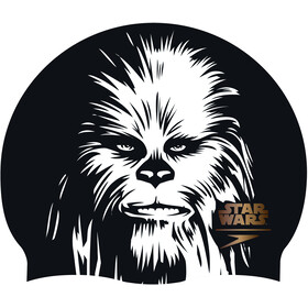 speedo Star Wars Slogan Print Pet, black/white/copper